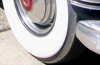 notice the cracks in the original tirewas it was retreaded