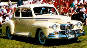 1946 Lincoln grill