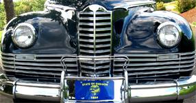 1946 Packard grill