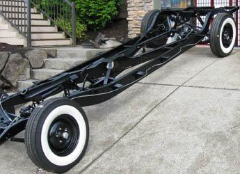 Packard frame