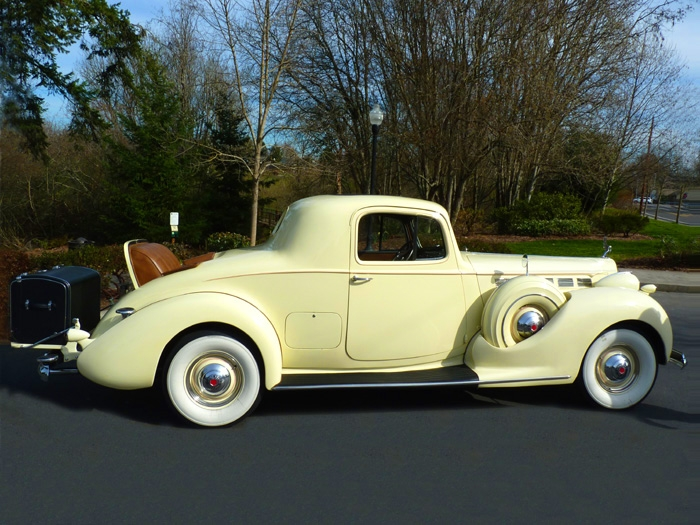 1938 Packard Super Eight Rumble Seat Coupe