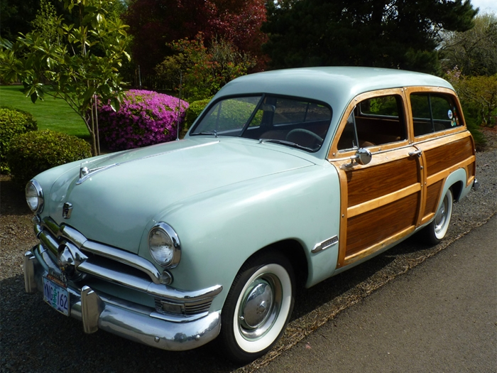 In 1950 Fordu0027s most expensive passenger car ... & 1950 Ford Country Squire Woodie Station Wagon markmcfarlin.com