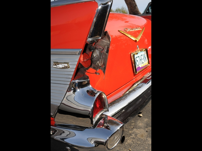 1956 chevy gas cap location